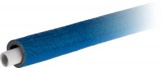 Rura wielowarstwowa PE-RT/AL/PE-RT uniwersalna w otulinie termoizolacyjnej w płaszczu przeciwwilgociowym – kolor niebieski
