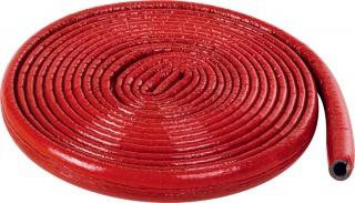Izolacja termiczna z pianki polietylenowej w płaszczu przeciwwilgociowym do rur czerwona