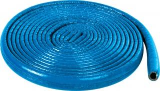 Izolacja termiczna z pianki polietylenowej w płaszczu przeciwwilgociowym do rur niebieska