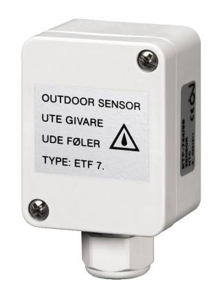 Zewnętrzny czujnik temperatury ETF-744/99