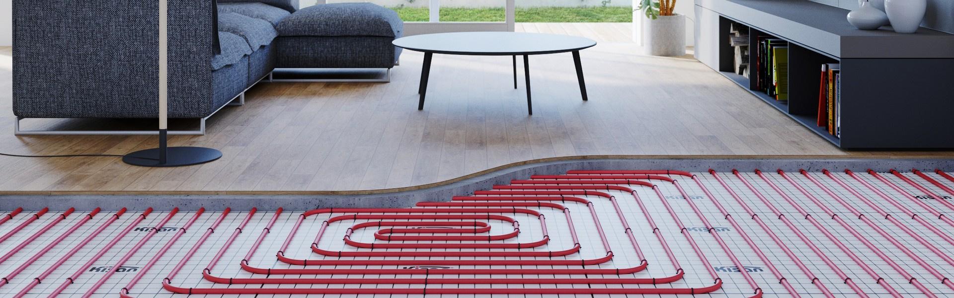 Kisan Comfort Floor Standard – system podłogowy mokry oparty na styropianie i spinkach