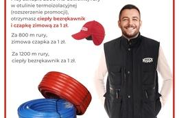 Promocja KISAN dba o ciepło Instalatora !
